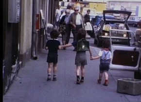 Bacherplatz, 1979, Family Loebenstein