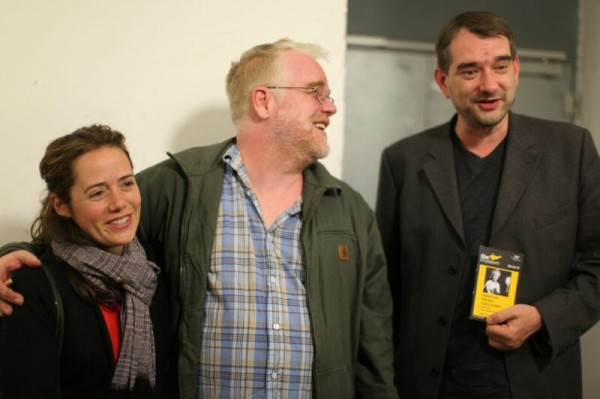 Mimi O'Donnell, Philip Seymour Hoffman, Alexander Horwath © Andrea Wagner