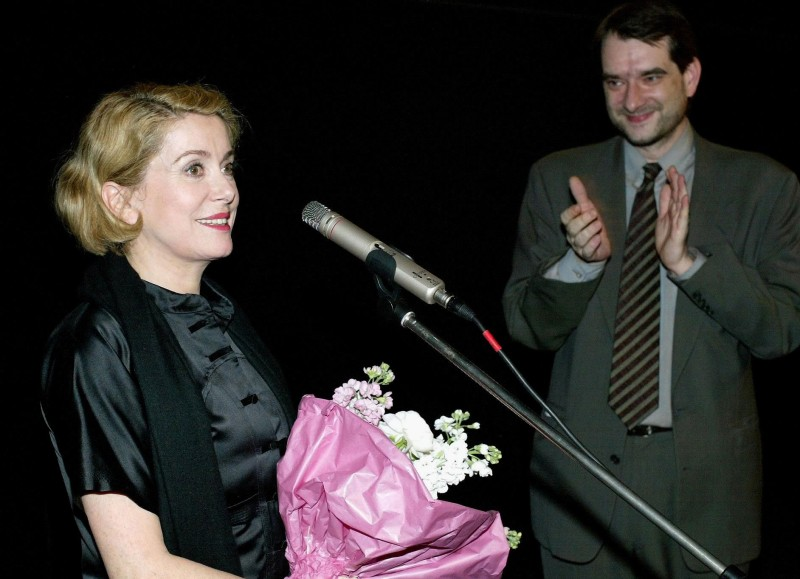 Catherine Deneuve und Alexander Horwath, 2003 © Robert Newald