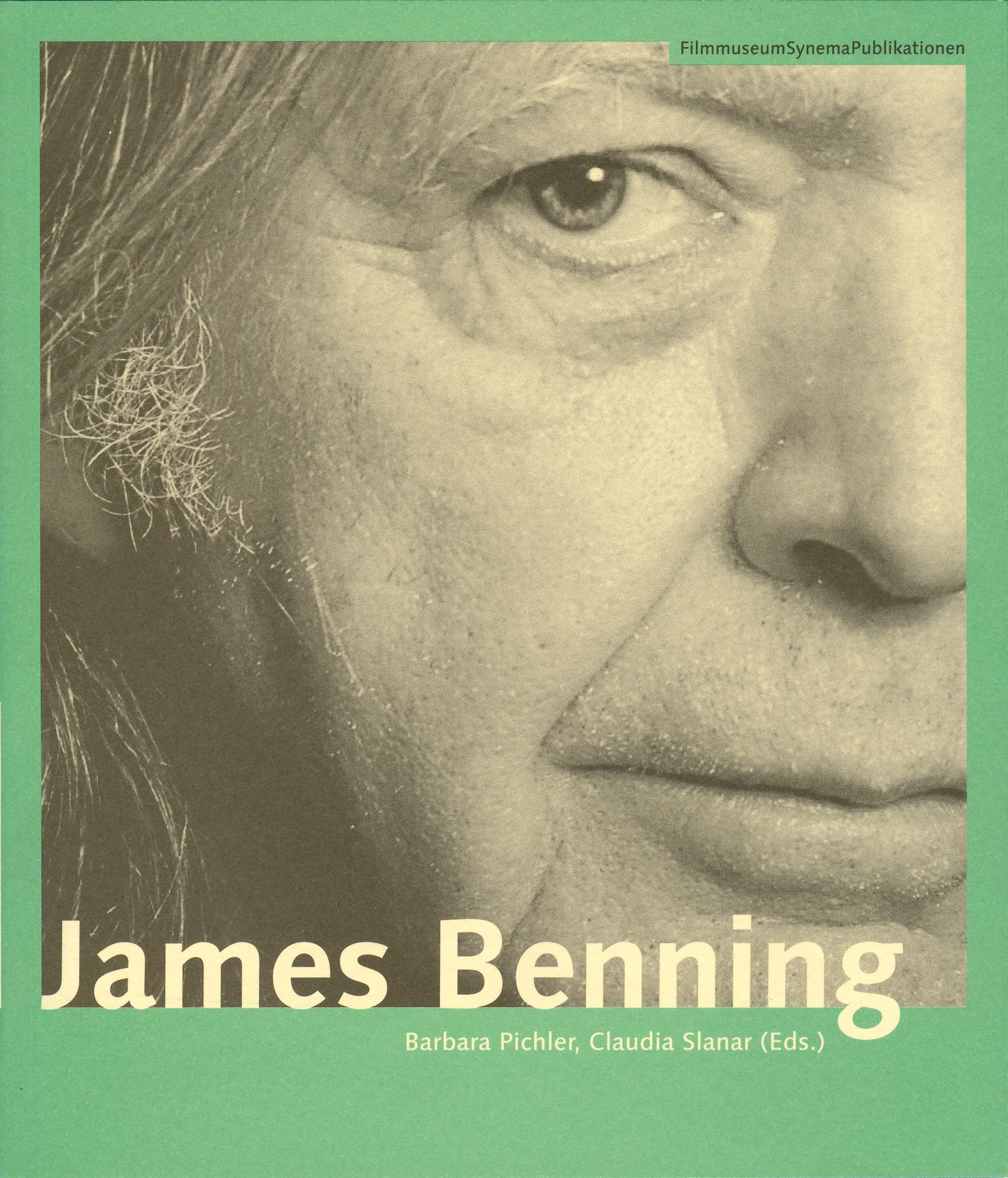Cover James Benning