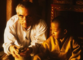 Setfoto Kundun, 1997, Martin Scorsese (c) Sikelia Collection, Photo: Mario Tursi