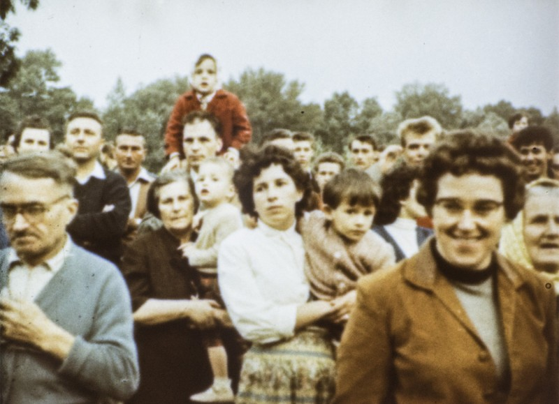 Vienna 1959. Pictures from a Soviet documentary film fragment about the Weltfestspiele der Jugend und Studenten (World Festival of Youth and Students) 1959 in Vienna