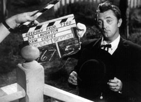 "Setfoto ""The Night of the Hunter"" (1955, Charles Laughton)"