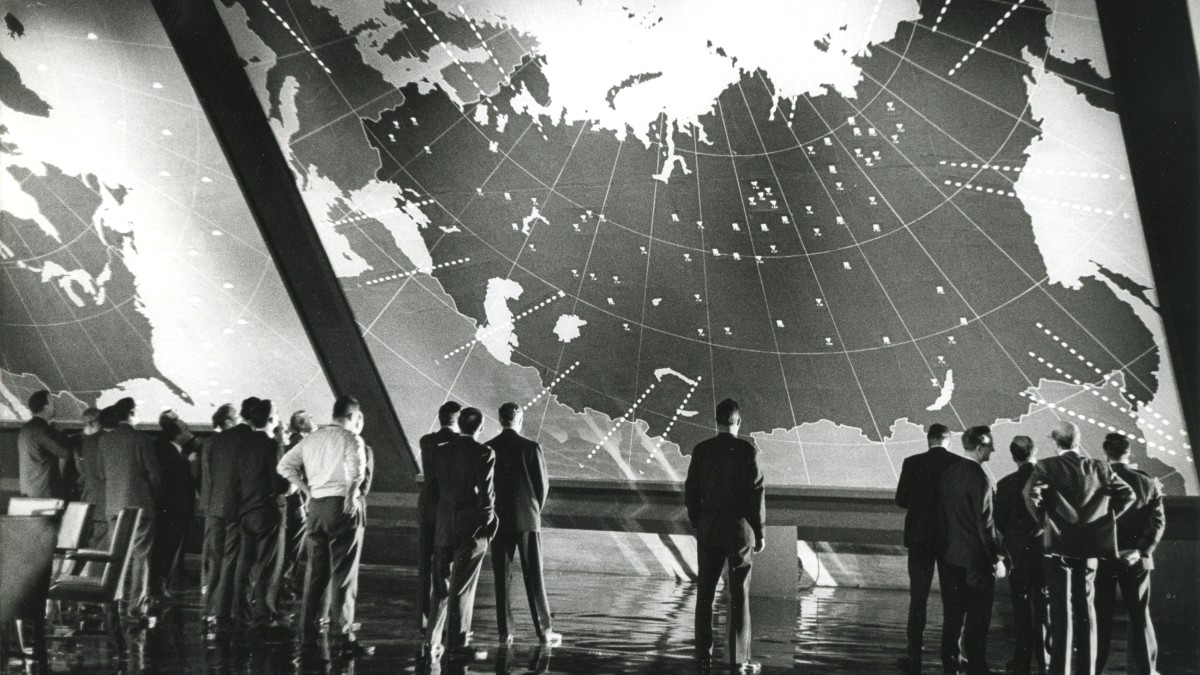 Dr. Strangelove or: How I Learned to Stop Worrying and Love the Bomb, 1964, Stanley Kubrick