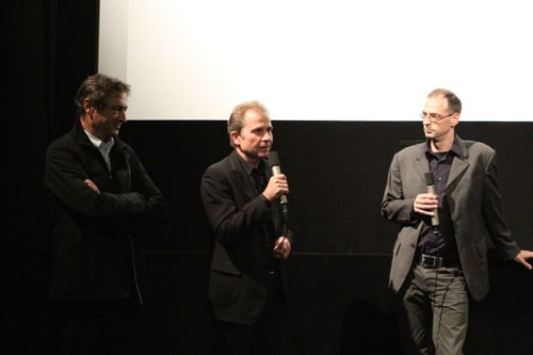 Jean Perret, Ulrich Seidl, Constantin Wulff © Andrea Wagner