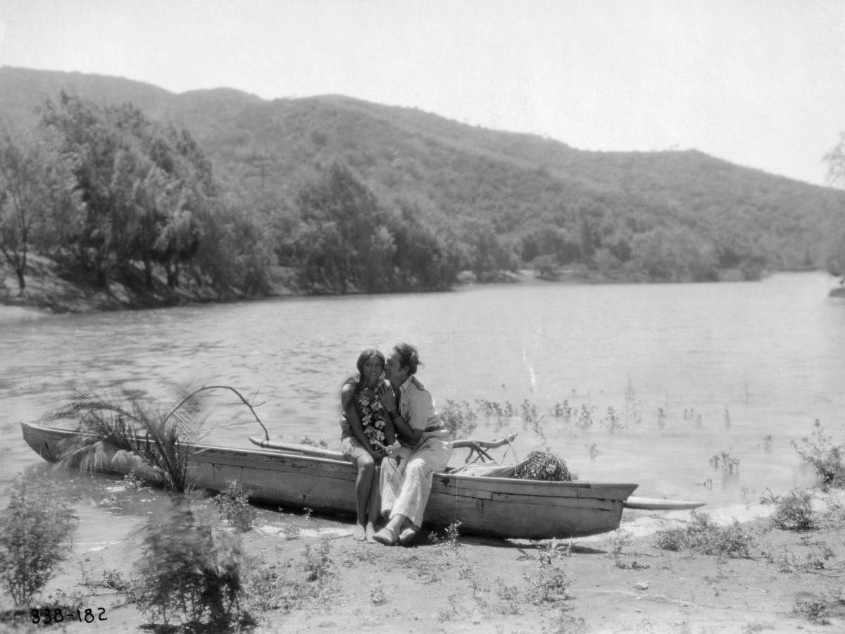 Image result for white shadows in the south seas 1928 lagoon