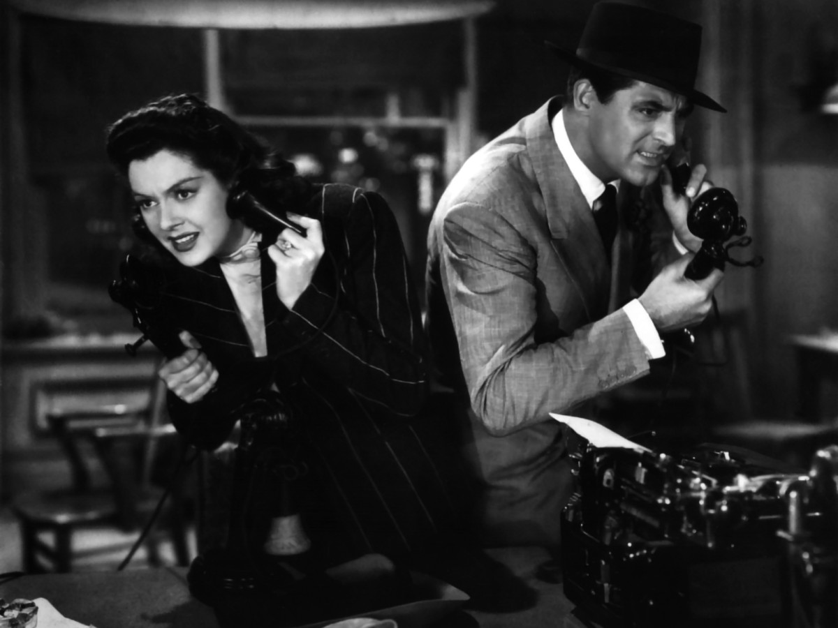 His Girl Friday, 1940, Howard Hawks