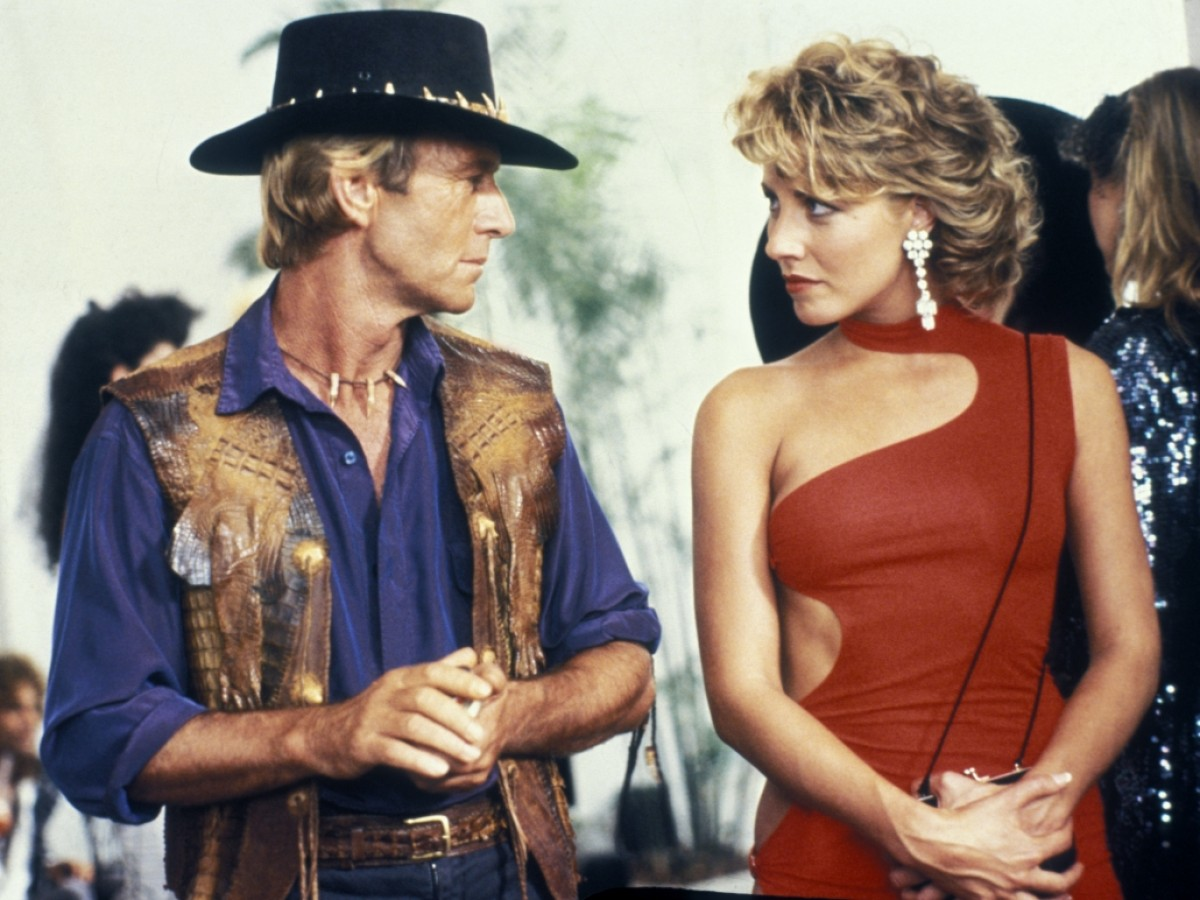 Crocodile Dundee, 1986, Peter Faiman (Foto: National Film and Sound Archive of Australia)
