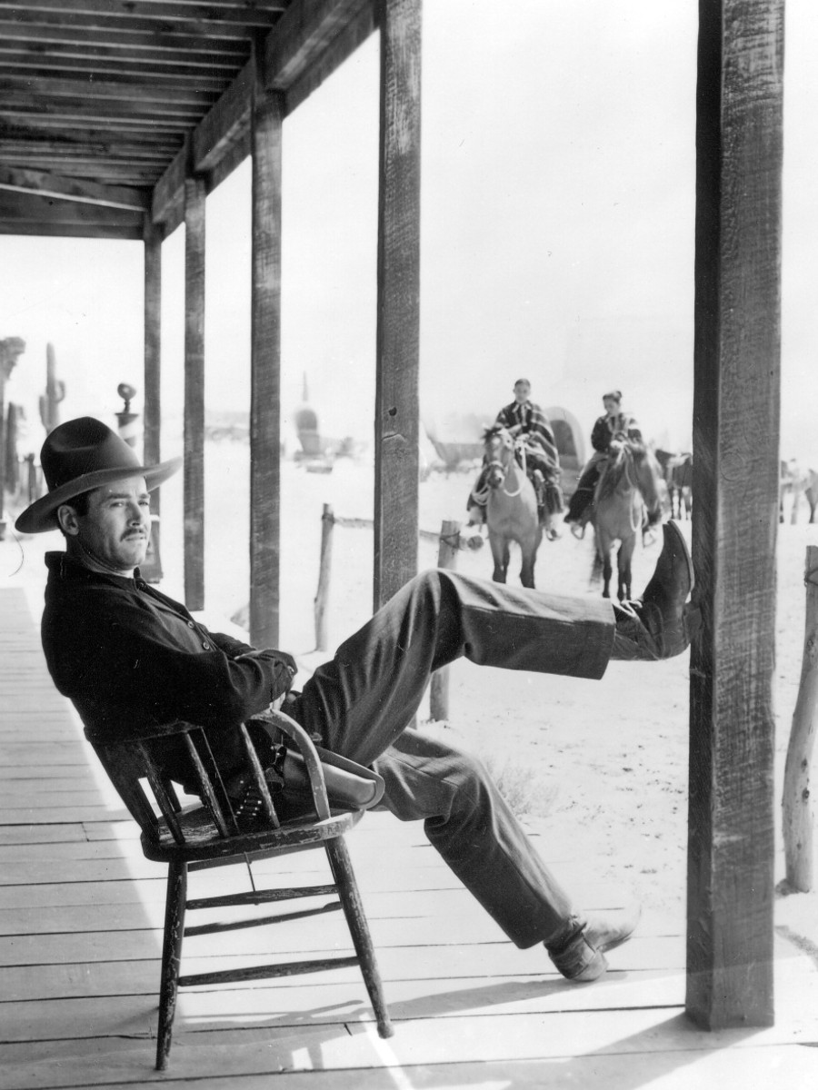 "Henry Fonda in ""My Darling Clementine"", 1946, John Ford"