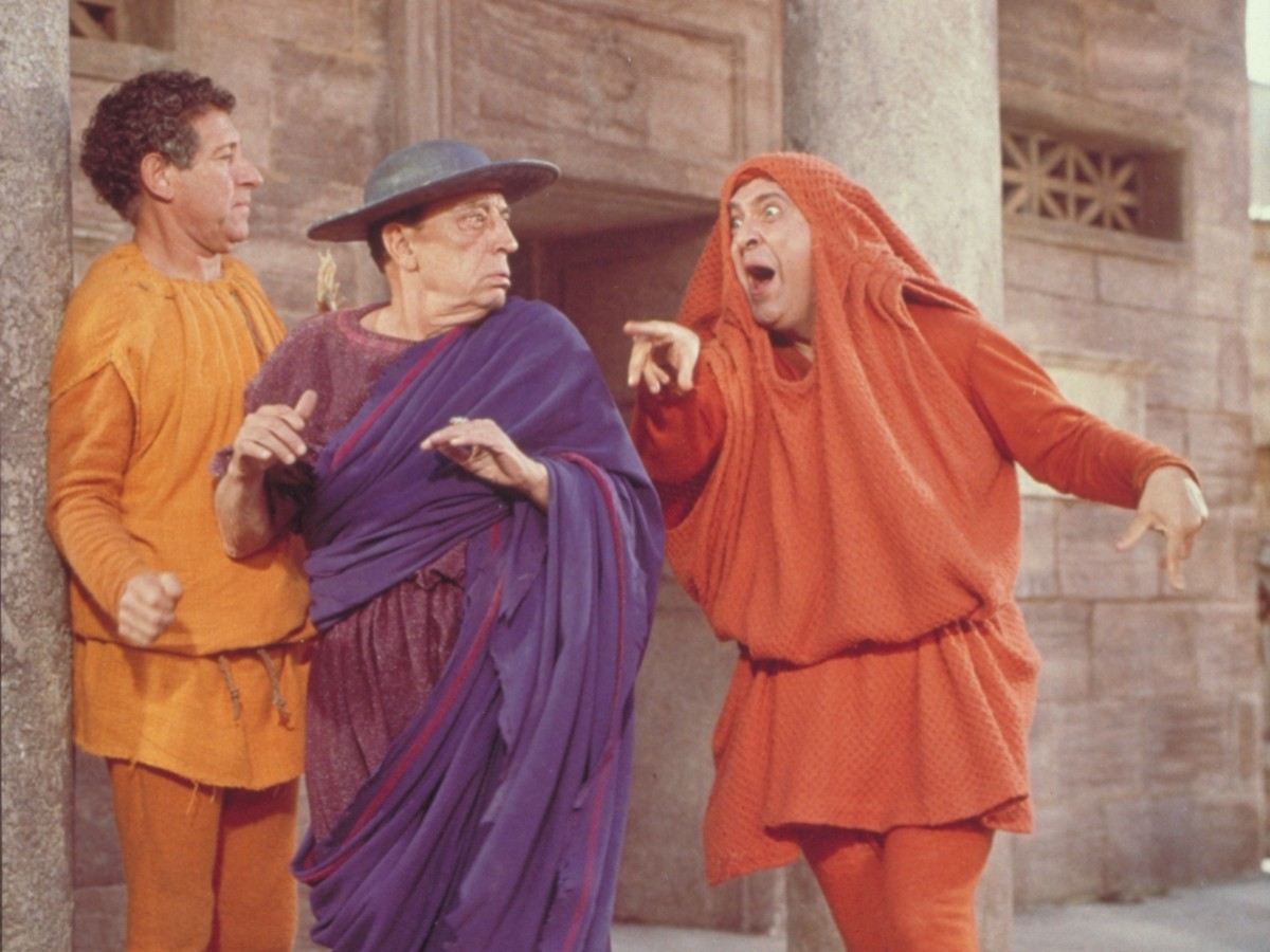 A Funny Thing Happened on the Way to the Forum, 1966, Richard Lester (Foto: Park Circus/MGM Studios)