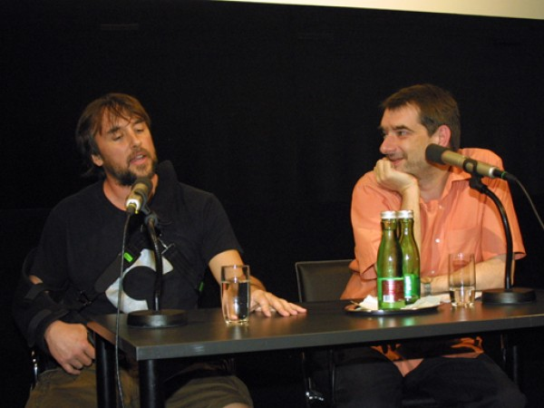 Richard Linklater und Alexander Horwath @ Gernot Weiler