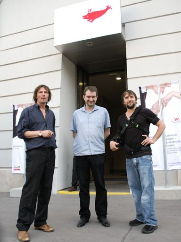 Dominik Castell, Alexander Horwath, Richard Linklater